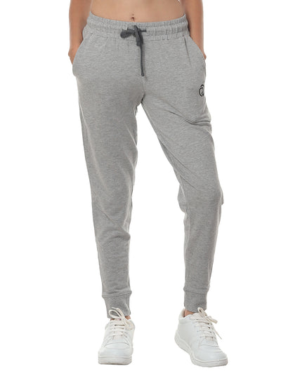 Training & Travel Jogger Pant with 2 Zippered side Pockets - Grey