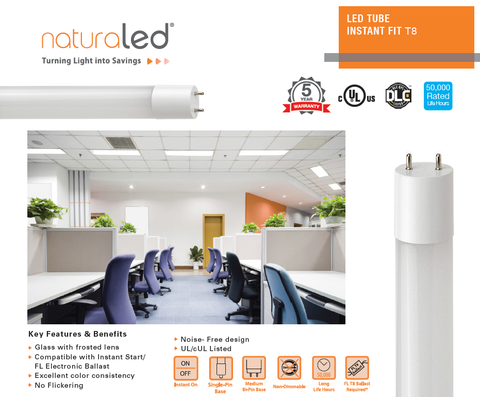 led instant fit tubes canada