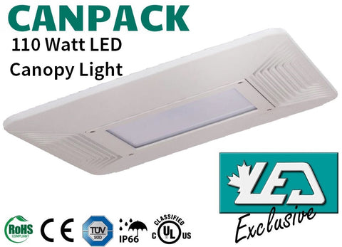110 Watt LED Canopy Light Vancouver