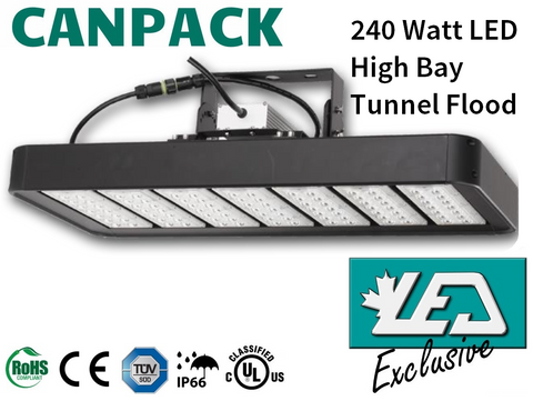 led high bay flood tunnel light canada