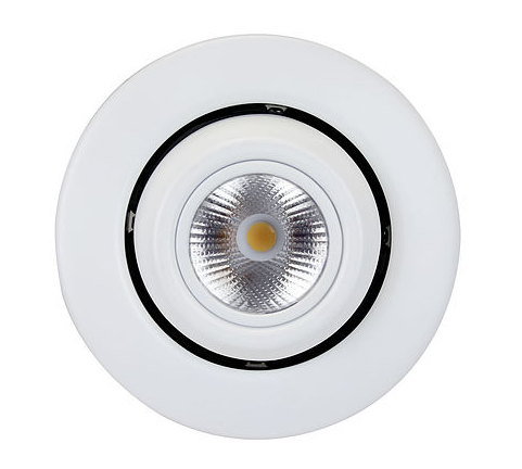 Recessed Glimbal LED Downlight - 10 Watt - 3000K - 700lm - DL4G-1000EW