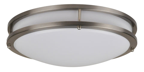 14 Inch LED Flush Mount FMM Modern 22 Watt - 3000, 4000K - 1652lm