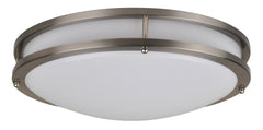 12 Inch LED Flush Mount FMM Modern - 18 Watt - 3000, 4000K - 1380lm