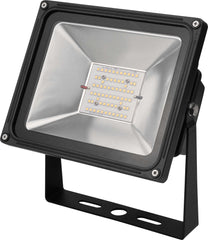 High Power LED Floodlight Fixture -  50 Watt - 4000K-5000K - 5621lm - 5741lm