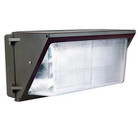 LED Wall Pack - TWP Forward Throw Visor Included Photocell Compatible - 90 Watt - 4000, 5000K - 6125, 6550lm