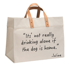 It's not drinking tote