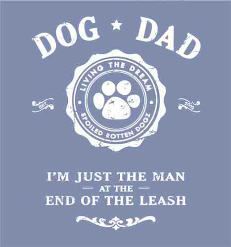 Dog Dad short sleeve unisex T shirt