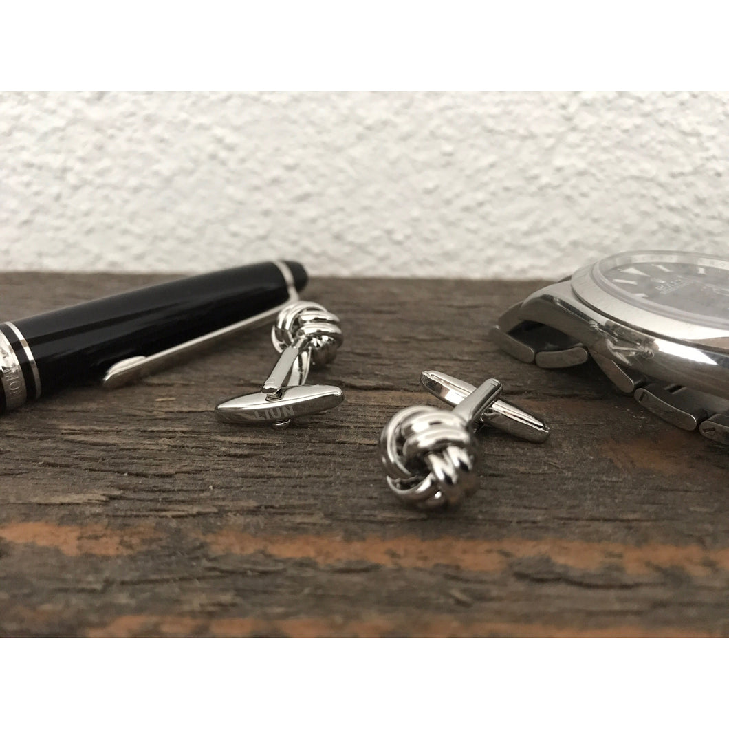 Edition 1 - Stainless Steel Knot Cufflinks