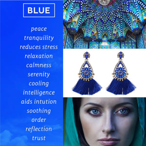 KEEP CALM WITH A SPLASH OF BLUE