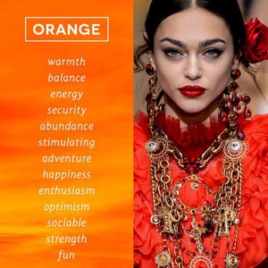 Is there a more suitable trend color for autumn / winter than orange?
