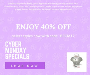 Fabulous #BFCM ! Enjoy 40% OFF with code BFCM17 today !