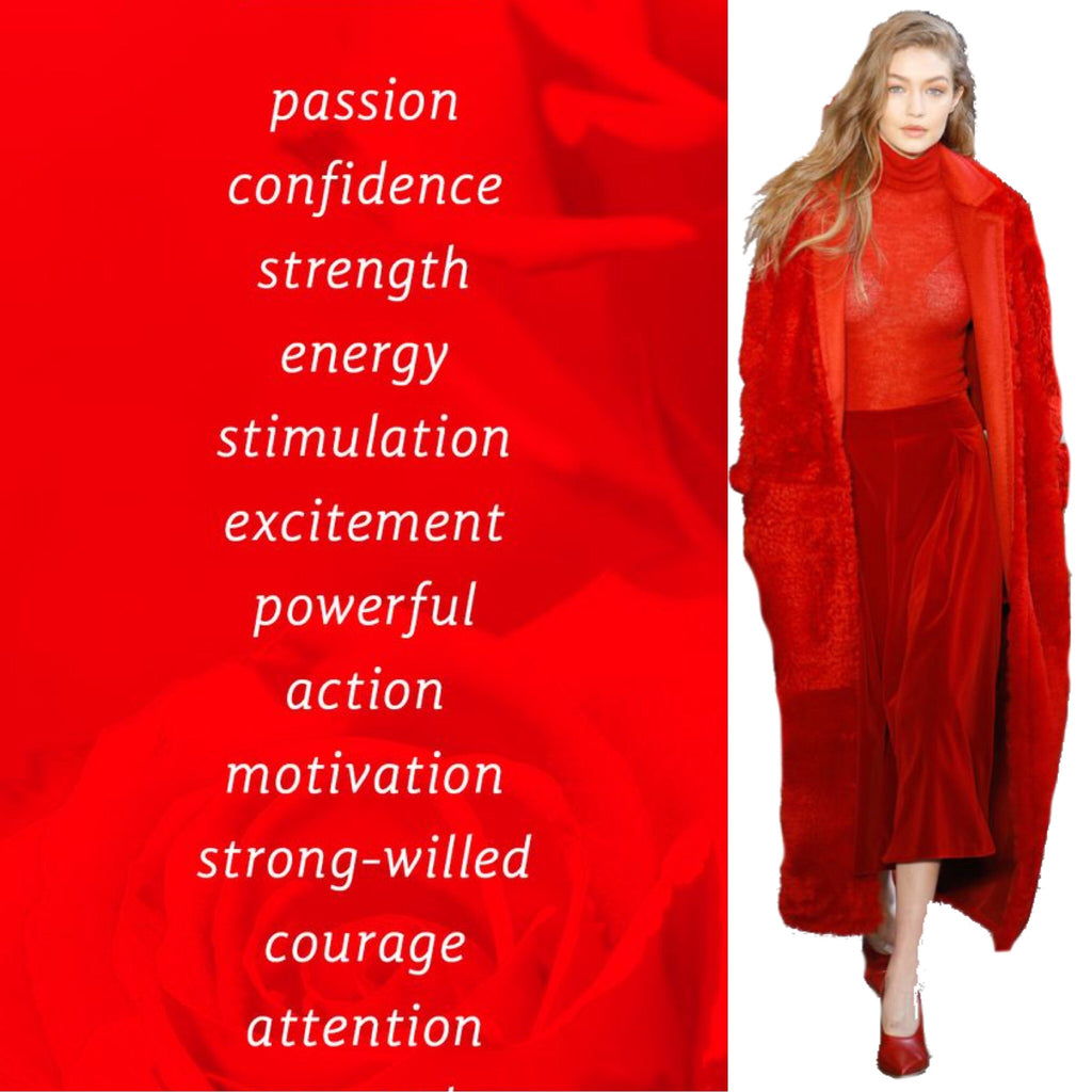Empowered yourself with a splash of red