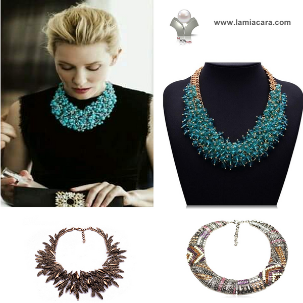 STATEMENT NECKLACES & PENDANTS - LA MIA CARA
