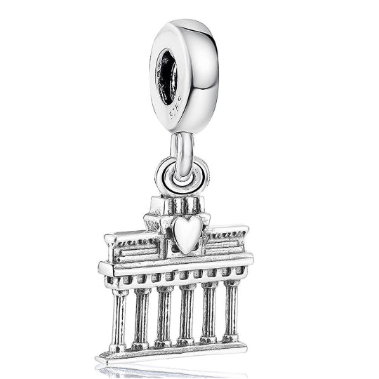La Mia Cara Jewelry - Viaggi Charm - Athen Travel Beads fit Pandora