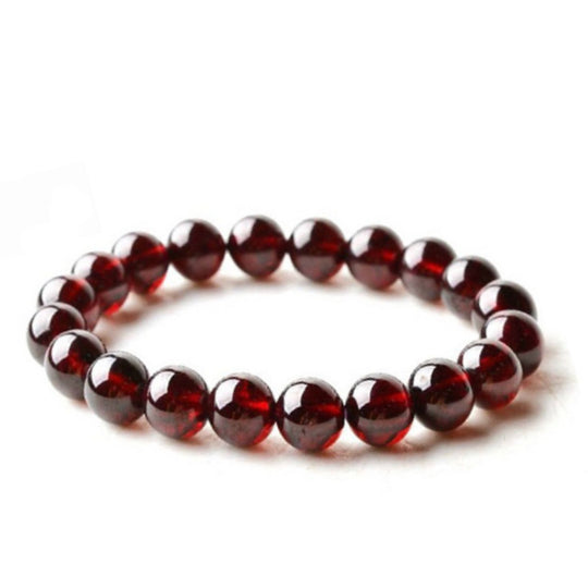 La Mia Cara Jewelry - Bordeaux - Men Wine Red Garnet Bracelet