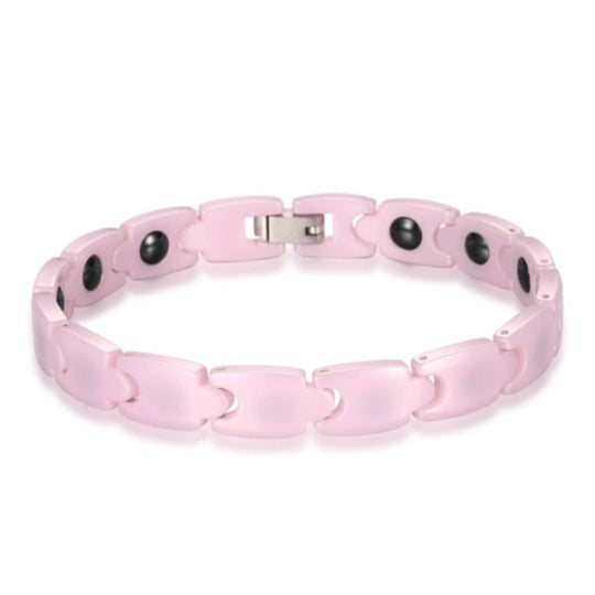 La Mia Cara Jewelry - Health Care Jewelry Women - Rainso Pink Magnetic Bracelet