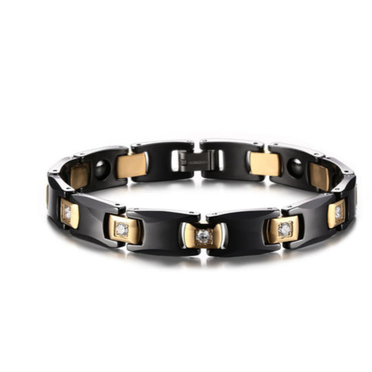 La Mia Cara Jewelry - Health Care Jewelry Women - Rainso Black Magnetic Bracelet