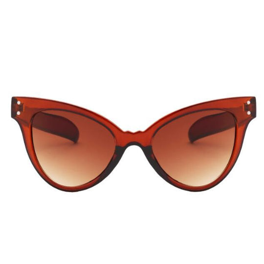 La Mia Cara - NAPLES - TEA RETRO INDIE FESTIVAL THIN CAT EYE SUNGLASSES