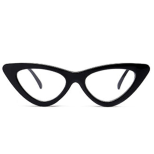 La Mia Cara - Siena - Sexy Black Cat Eye Retro Optical Glasses  - Myopia Eyewear