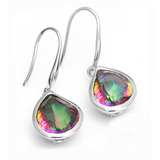 Arc en Ciel - Mystic Topaz Sterling Silver Earrings - LA MIA CARA JEWELRY - 2