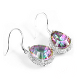 Arcobaleno - Mystic Topaz Sterling Silver Earrings - LA MIA CARA JEWELRY - 2