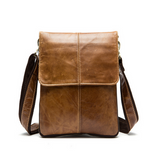 Franco - Genuine Leather Shoulder Crossbody Bag Men - LA MIA CARA JEWELRY - 2