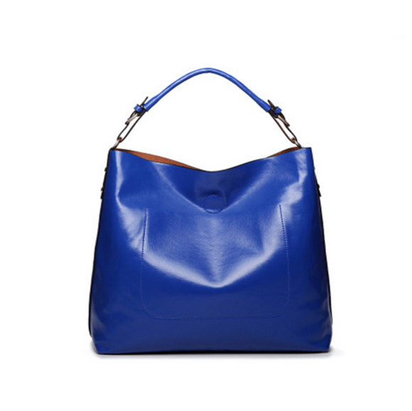 Due in Uno - Bright Color Genuine Leather Messenger Handbag - LA MIA CARA JEWELRY - 3