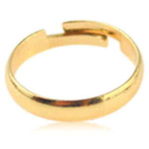 La Mia Cara Jewelry - Caprina - Gold Toe Ring