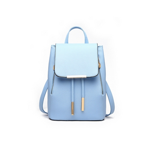 La Mia Cara  - Carina - 7 Candy Color Leather Backpack