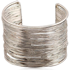 Filigrane - Gold or Silver Cuff Bracelet - LA MIA CARA JEWELRY - 2