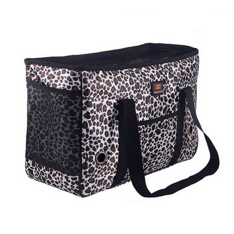 Filou - Pet Love Leopard Print Carrier Bag - LA MIA CARA JEWELRY - 1