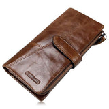 Francesco - Classical Leather Organizer Vintage Man Wallet - LA MIA CARA JEWELRY - 2