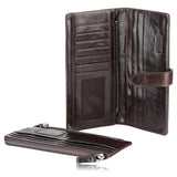 Francesco - Classical Leather Organizer Vintage Man Wallet - LA MIA CARA JEWELRY - 3