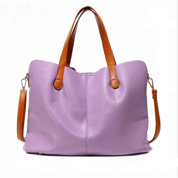 Purple Ciceroni - Luxury Genuine Leather Messenger Bag