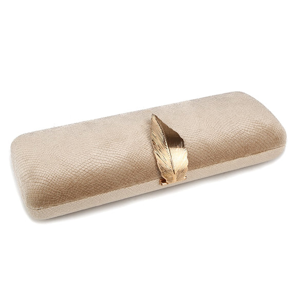La Mia Cara Jewelry - Kamilla Gold - Long Evening Clutch
