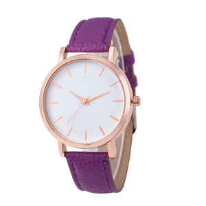 La Mia Cara Jewelry - Femmina Collection Purple- Luxury Fashion Casual Quartz Women Watch