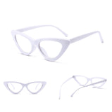 La Mia Cara - Siena - Sexy White Cat Eye Retro Optical Glasses  - Myopia Eyewear