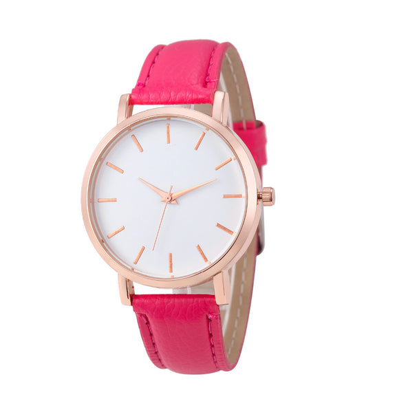 Femmina Collection Pink - Luxury Fashion Casual Quartz Women Watch