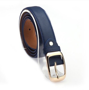 La Mia Cara Jewelry - Cintura Di Pelle Blue - Leather Belt Woman