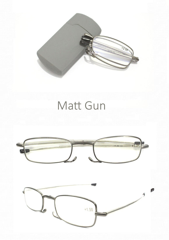 La Mia Cara Jewelry & Accessories - Turin -  Folding Reading Glasses for Men & Women