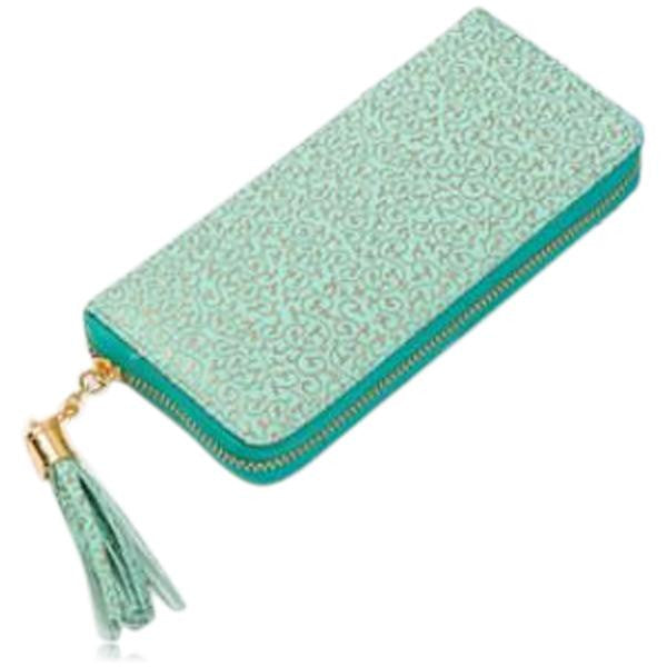 Jessica - 11 Color Leather Variants  Long  Design Clutch Lady Wallet  Purse - LA MIA CARA JEWELRY - 10