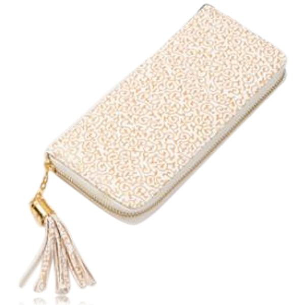 Jessica - 11 Color Leather Variants  Long  Design Clutch Lady Wallet  Purse - LA MIA CARA JEWELRY - 11