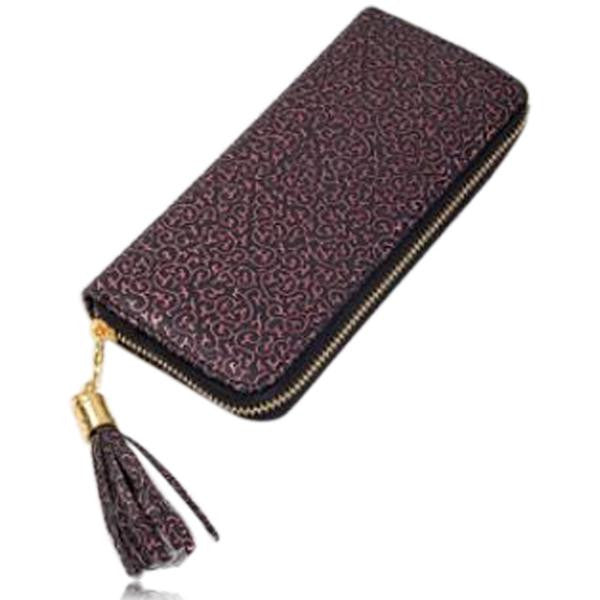Jessica - 11 Color Leather Variants  Long  Design Clutch Lady Wallet  Purse - LA MIA CARA JEWELRY - 12