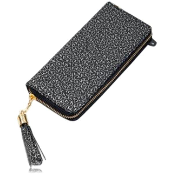 Jessica - 11 Color Leather Variants  Long  Design Clutch Lady Wallet  Purse - LA MIA CARA JEWELRY - 13