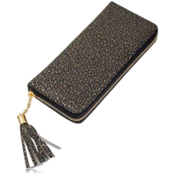 Jessica - 11 Color Leather Variants  Long  Design Clutch Lady Wallet  Purse - LA MIA CARA JEWELRY - 14