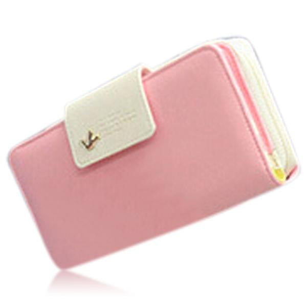 Jessica - 11 Color Leather Variants  Long  Design Clutch Lady Wallet  Purse - LA MIA CARA JEWELRY - 4