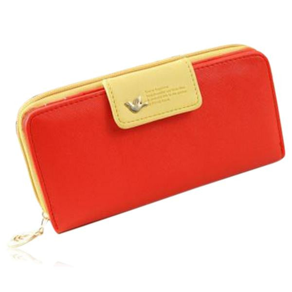 Jessica - 11 Color Leather Variants  Long  Design Clutch Lady Wallet  Purse - LA MIA CARA JEWELRY - 5