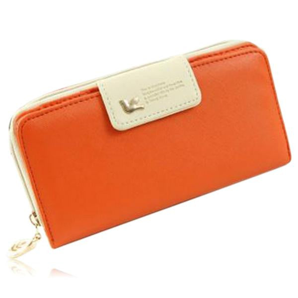 Jessica - 11 Color Leather Variants  Long  Design Clutch Lady Wallet  Purse - LA MIA CARA JEWELRY - 8