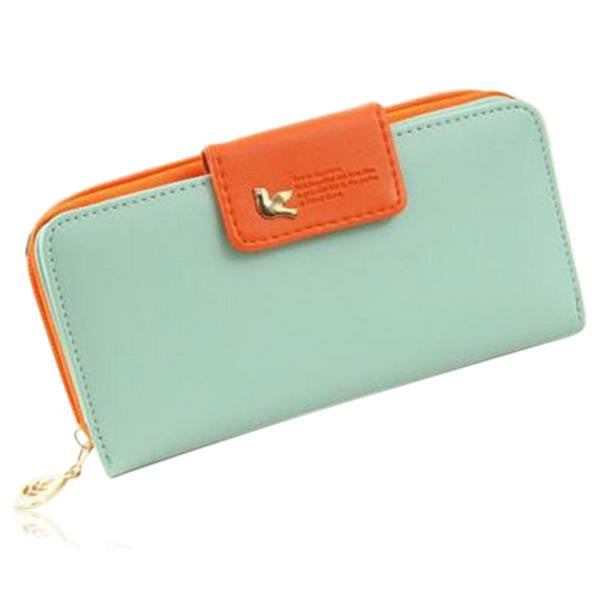Jessica - 11 Color Leather Variants  Long  Design Clutch Lady Wallet  Purse - LA MIA CARA JEWELRY - 6
