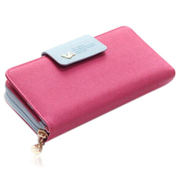 Jessica - 11 Color Leather Variants  Long  Design Clutch Lady Wallet  Purse - LA MIA CARA JEWELRY - 7